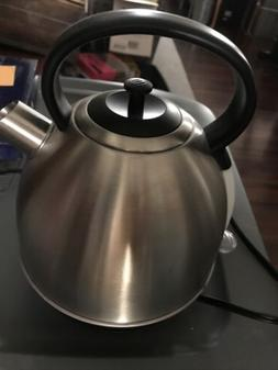 AICOK 1.7-Liter Brushed Stainless Steel Electric Kettle 1500