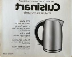 Cuisinart 1.7-Liter Stainless Steel Cordless Electric Kettle