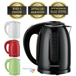 Ovente BPA-Free Cordless Electric Kettle Double-Walled Stain