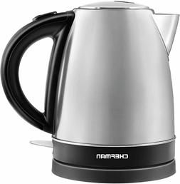 Chefman 1.7 Liter Fast Heating Electric Hot Water Tea Kettle