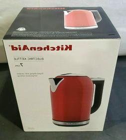 KitchenAid 1.7L Electric Kettle with LED Display, Empire Red