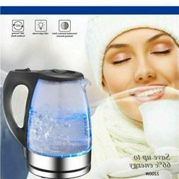 1.7L Glass Electric Kettle Auto Shut Off Water Kettle Tea Ke