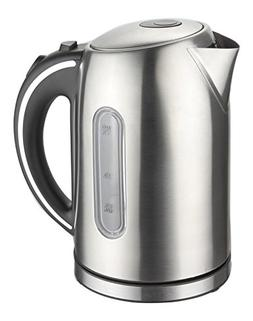 MegaChef 1.7Lt. Stainless Steel Electric Tea Kettle