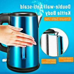 1 8l 1500w electric glass kettle hot