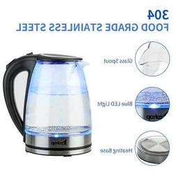 1 8l electric kettle glass tea kettle