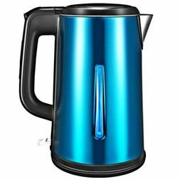 1.8L Electric Kettle Stainless Coffee Tea Hot Water Boiler W