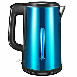 VTIN 1.8L Electric Tea Kettle Stainless Steel DOUBLE-WALLED
