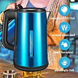 1.8L Stainless Steel Cordless Electric Kettle Tea Fast Boili