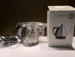 Bonavita 1-Liter Electric Gooseneck Tea Coffee Kettle Stainl