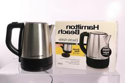 Hamilton Beach 1 Liter Electric Kettle For Tea And Hot Water