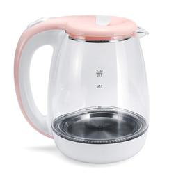 1500W 1.8L Stainless Steel Glass Travel <font><b>Electric</b