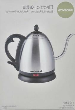 Bonavita 1L Gooseneck spout Electric Kettle, Precision Brewi