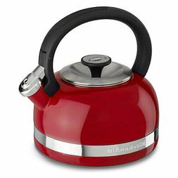 KitchenAid 2.0 Quart Whistle Tea Pot Kettle with Full Handle