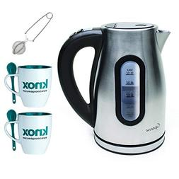 Capresso 276.04 H2O Pro Programmable Cordless Water Kettle,