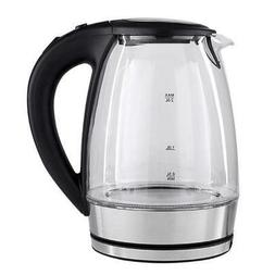 2L Electric Glass Kettle 2000W Fast Boiling Tea Coffee Pot w