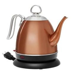 32 ounce mia electric kettle copper