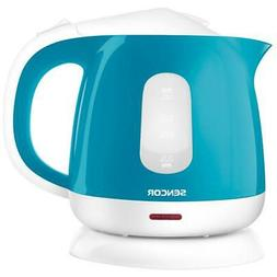 4.3-Cup Turquoise Corded Electric Kettle With Automatic Shut