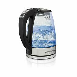 Hamilton Beach 40941 Glass Electric Kettle with 6 Programmed