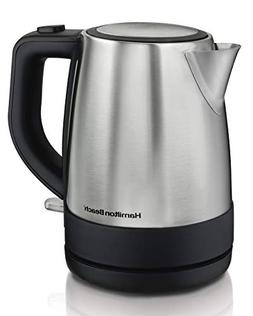 Hamilton Beach 40998 Electric Kettle, 1L, Silver