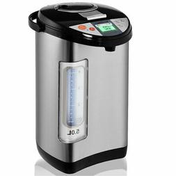5 liter lcd water boiler and warmer