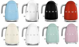 SMEG 50's Retro Style Electric Kettle  CHOOSE FROM 7 COLORS