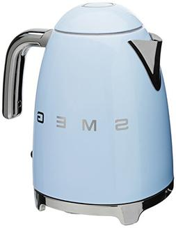 Smeg 50s Retro Style Pastel Blue Electric Kettle