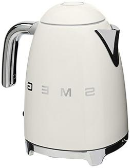 NEW Smeg 7-cup/1.7-Liter stainless steel powder coated body