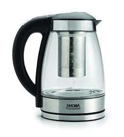 Aroma Housewares AWK-165DI 7 Cup Glass and Stainless Digital