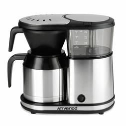 Bonavita 5-Cup One-Touch Coffee Maker Featuring Thermal Cara