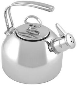 Chantal Classic Stainless 1.8 qt. Tea Kettle
