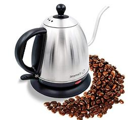 Elementi Premier Electric Gooseneck Kettle for Pour Over Cof