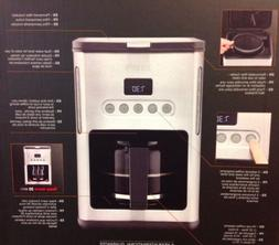 KRUPS KM442D Control Line Programmable Coffee Maker Machine