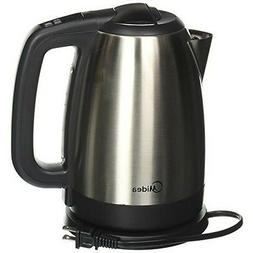 Midea - 1.7l Cordless Electric Kettle - Stainless Steel