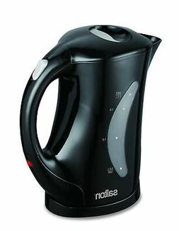 Salton JK1199 Cordless Electric Jug Kettle, 1.7-Liter, Black