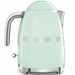 Smeg KLF03PGUS 50's Retro Style Aesthetic Electric Kettle wi