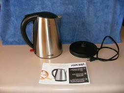 Aroma Housewares AWK-1400SB 7 Cup Stainless Steel Electric K