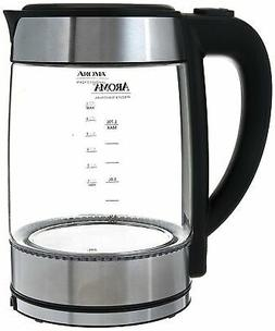 AROMA PROFESSIONAL AWK-165M 1.7 L Glass Electric Kettle / NE