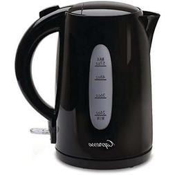 "Black 1.7 Liter Electric Water Kettle Kitchen "" Dining"