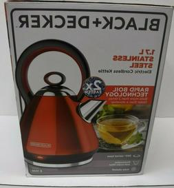 black and decker bd electric kettle ss