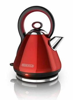 BLACK+DECKER 1.7L Stainless Steel Electric Cordless Kettle R