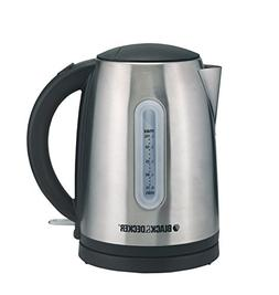 Black & Decker JC400 220V 2200W Electric Kettle, 1.7 L, Stai