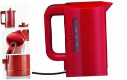 Bodum 11452-294US 34-Ounce Electric Water Kettle, Red 34 Oun