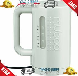 Bodum 11452-913US Bistro Electric Water Kettle, 34 Ounce, Wh