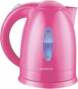 Ovente KP72P 1.7 L BPA-Free Electric Kettle, Fast Heating Co
