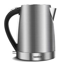 Cusimax 1.7 L BPA-free Electric Kettle, Stainless Steel Cord
