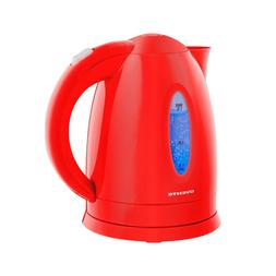 Ovente Electric Water Kettle 1.7 Liter Water Boiler LED 1100