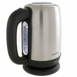 ovente cordless electric kettle 1 7l 1100w