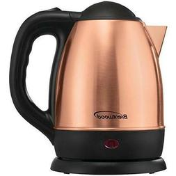 Brentwood Kt-1770rg 1.2L Stainless Steel Electric Kettle Ros