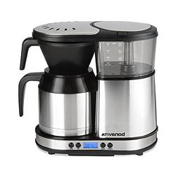 Bonavita BV1500TD 5-Cup Digital Carafe Coffee Brewer, Stainl