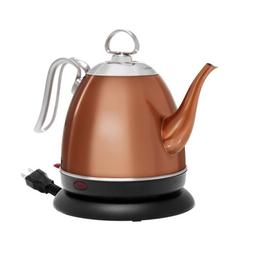 Chantal Mia Ekettle Stainless Steel with Copper Finish 32 Ou